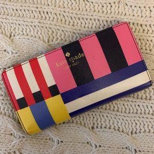 Kate Spade Color Block Wallet